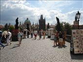 The Charles Bridge in Prague. I am sure everyone who has been to Prague took this exact same photo.: by alysandjess, Views[237]