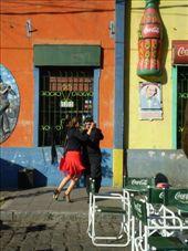 Tango dancers in the street: by alyssa_schwartz, Views[166]