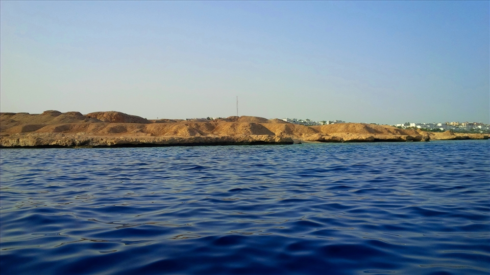 The beauty of Red Sea, Sharm-el-Sheikh, speed boat
