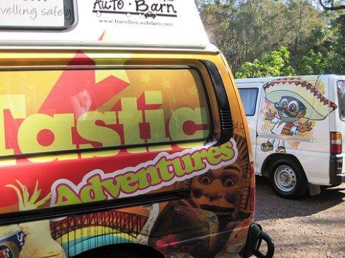 Geoff the van-tastic van in Port Stephens, NSW