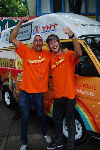Van-Tastic Queensland teams heads off from Calypso in Cairns