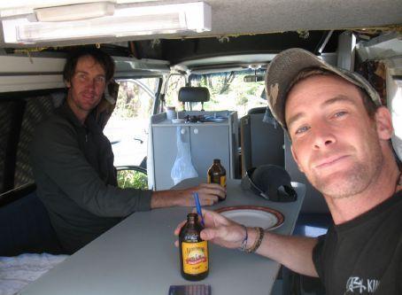 Inside the van with Timo & Matt - AKA the Wanderyears