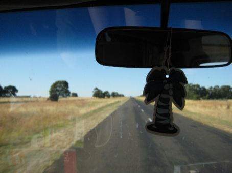 On the road to the grampians