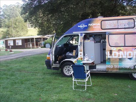 Lost Girls campsite