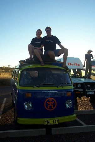 A blast from the past: The Mark-1 version of the World Nomads Ambassador Van. More pics of the Kombi Adventure at http://journals.worldnomads.com/travel-competitions/gallery/731.aspx