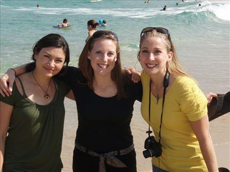 The Lost Girls find Bondi Beach