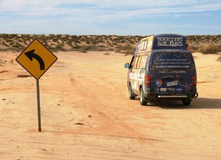 Wanderyears head towards Lake Eyre