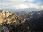 View from railway station at Divisadero onto the Copper Canyon: by amil_patel, Views[156]