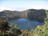 A view of the laguna de la chicabal in the crater of an extinct volcano: by amil_patel, Views[482]