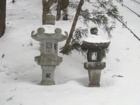 At Chousa Temple, Tagakushi.