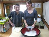 Then it was my turn... Sensei was impressed that i sifted the flour correctly (no trick to it, just sift it): by amy_palfreyman, Views[316]