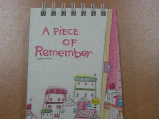 Another student's note book... now we just need a piece of forget to undo the bad grammar. Suwon, South Korea