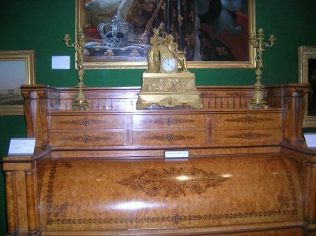 antiques in art gallery