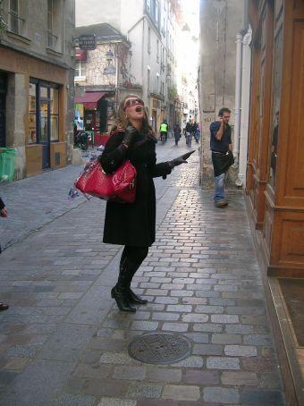 me in pretty street