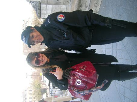 me and nice police lady