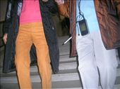 a french man dressed in bright orange pants and pink top - not sohpisticated (fashion): by anabobana, Views[759]