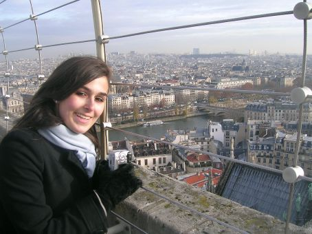 nic on top of notre dame