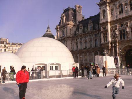 ice skating dome