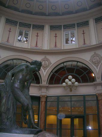 indoor shopping arcade near mont martre