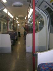 inside the tube train ... it really is a tube : by anabobana, Views[81]