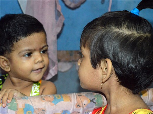 Sister talk, more the words the expression matters!