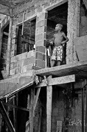 Their buildings are rarely plastered into the bare brick looks. : by andraspolgar, Views[118]