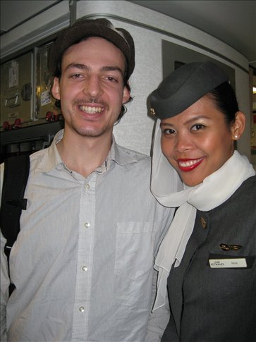 ans with flight attendant