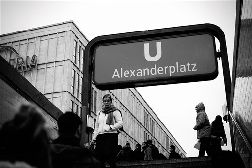 Alexanderplatz - the center of Berlin. One of the most frequented underground stops in the entire city.   Tons of interesting people coming and going.