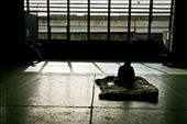 At the Nishinari Labor Center's main hall, Kamagasaki residents pass the time. Some have taken to sleeping here in the hopes of getting first crack at what little work comes. : by andrewhouston, Views[1507]