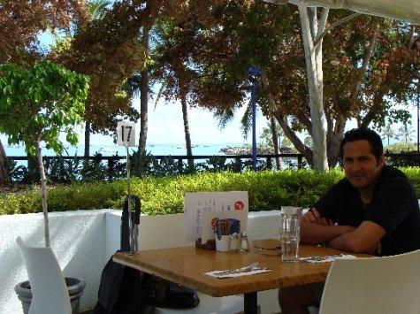 I miss cafes...