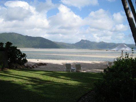 View of the Hayman Beach
