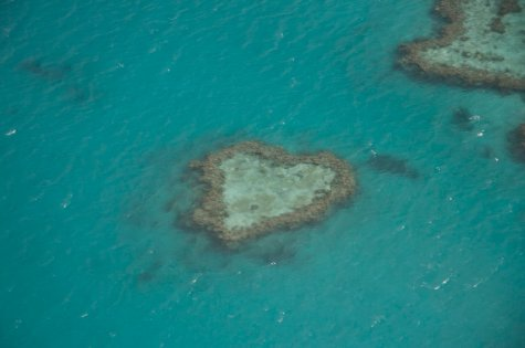 The famous Heart Reef