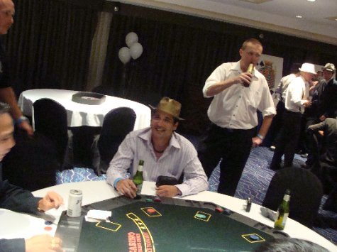 Casino Night - the 'master' at work