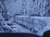 The train going through the end of the Rockies: by andrewp-melissar, Views[1824]