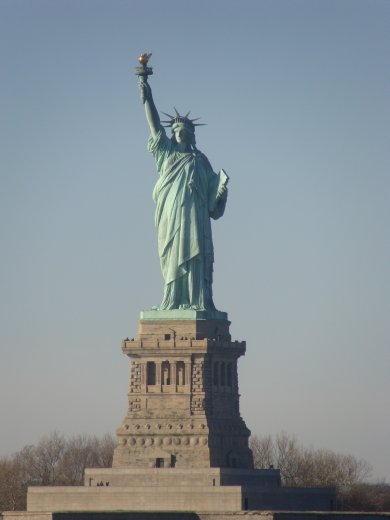 The Lady herself...the Statue of Liberty