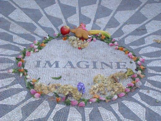 Strawberry Fields - in memory of John Lennon