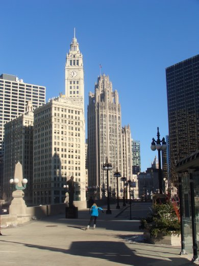 Chicago - a very beautiful, clean city. One of our favourite spots