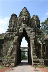 Angkor Thom South Gate: by andyandsam, Views[228]