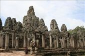 Bayon Temple in Angkor Thom: by andyandsam, Views[252]