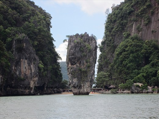James Bond Island, featured in the movie
