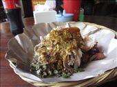 Babi guling, a suckling pig dish, at Ibu Oka: by anealis314, Views[110]