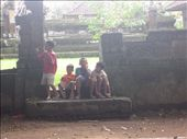 Indonesian kids hanging around talking to us and playing soccer.: by anealis314, Views[113]