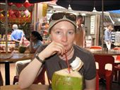 Yummy coconut juice is a welcome relief in the heat!: by ang_and_abe, Views[273]