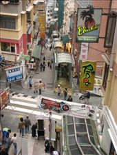 The 800m long escalator in narrow SoHo streets: by ang_and_abe, Views[506]
