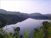 the crater lakes of western uganda, so beautiful and such green lush countryside: by angeline, Views[948]