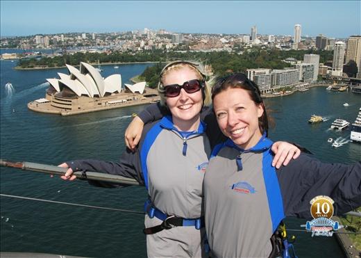 Sydney Bridge Climb... Victorious!