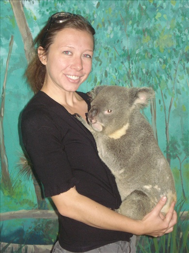 With George the Koala - Australia