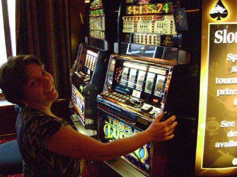 Our net was -$75 on the slots for this trip...