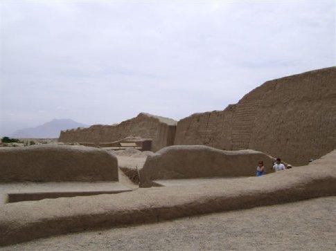 Chan Chan temple, Peru