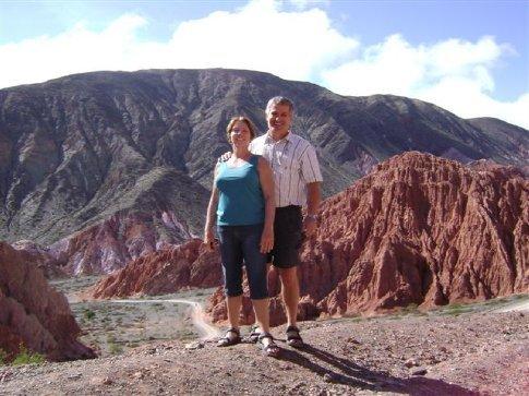 Morning walk in the canyon outside Punamarca